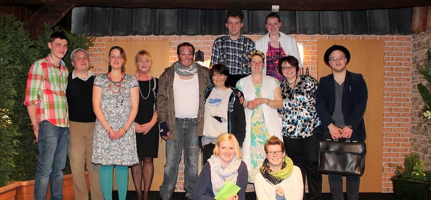 Die Theatergruppe im Jahr 2015