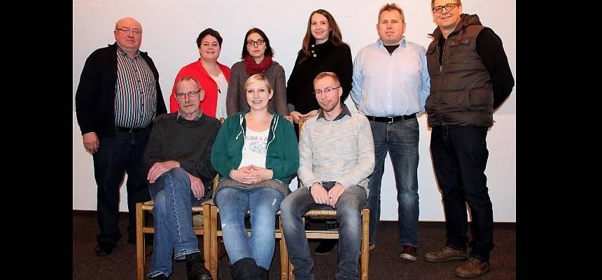 Vorstand des Theatervereins Vrees