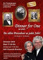 Dinner For One up Platt - Sylvester 2019 live in Lingen / Clusorth-Bramhar