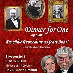 Dinner For One up Platt - Sylvester 2019 live in Lingen / Clusorth-Bramhar