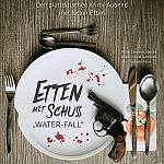 """Plakat """"Etten mit Schuss - WATER-FALL"""""""